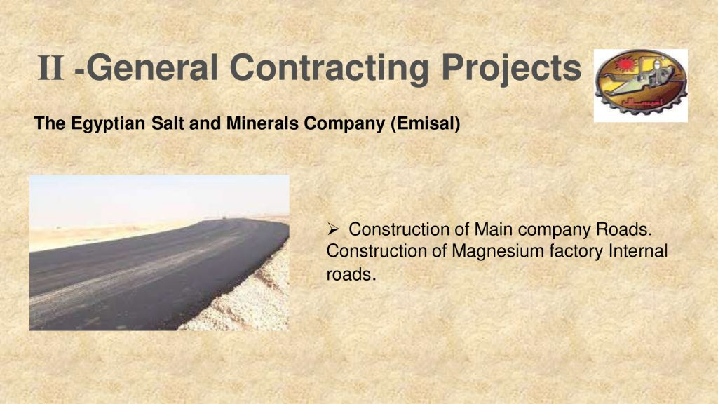 II -General Contracting Projects