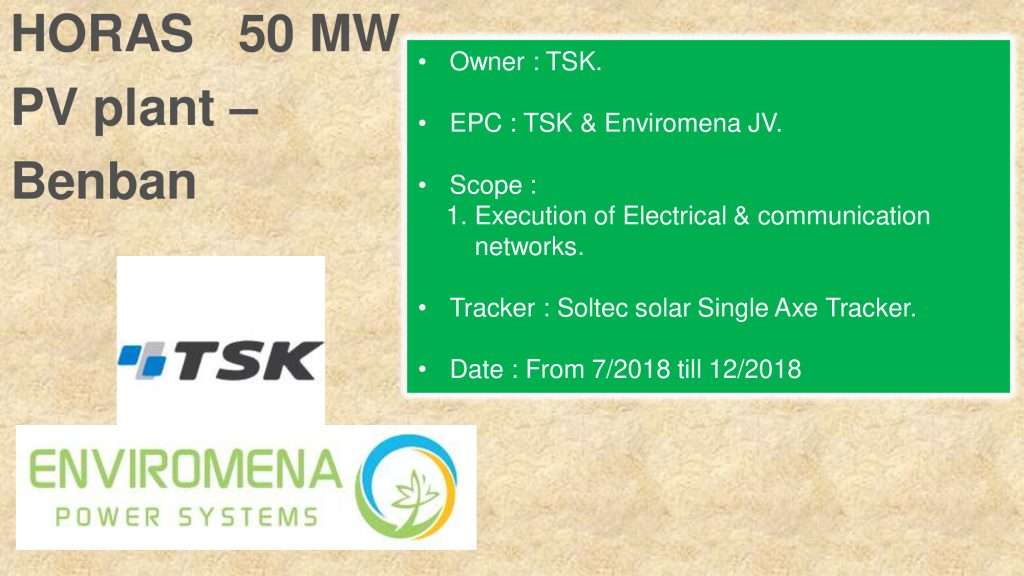 HORAS 50 MW PV plant – Benban