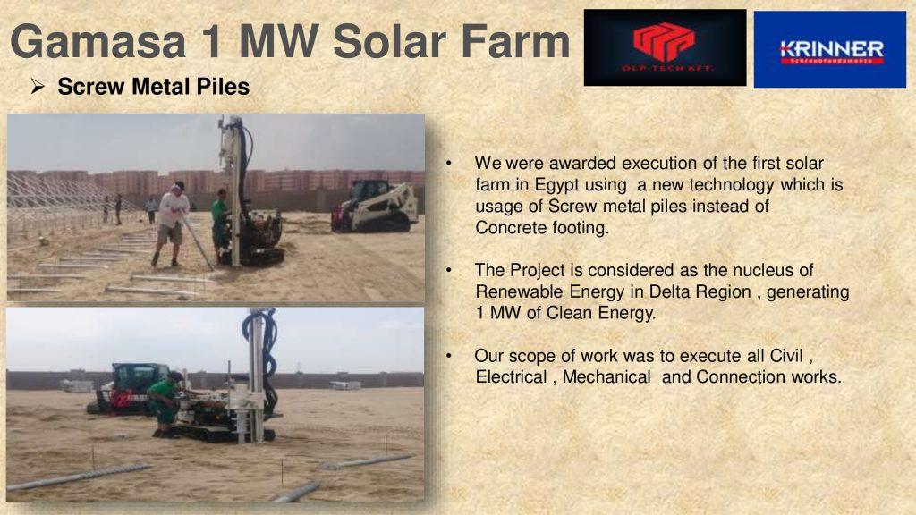 Gamasa 1 MW Solar Farm