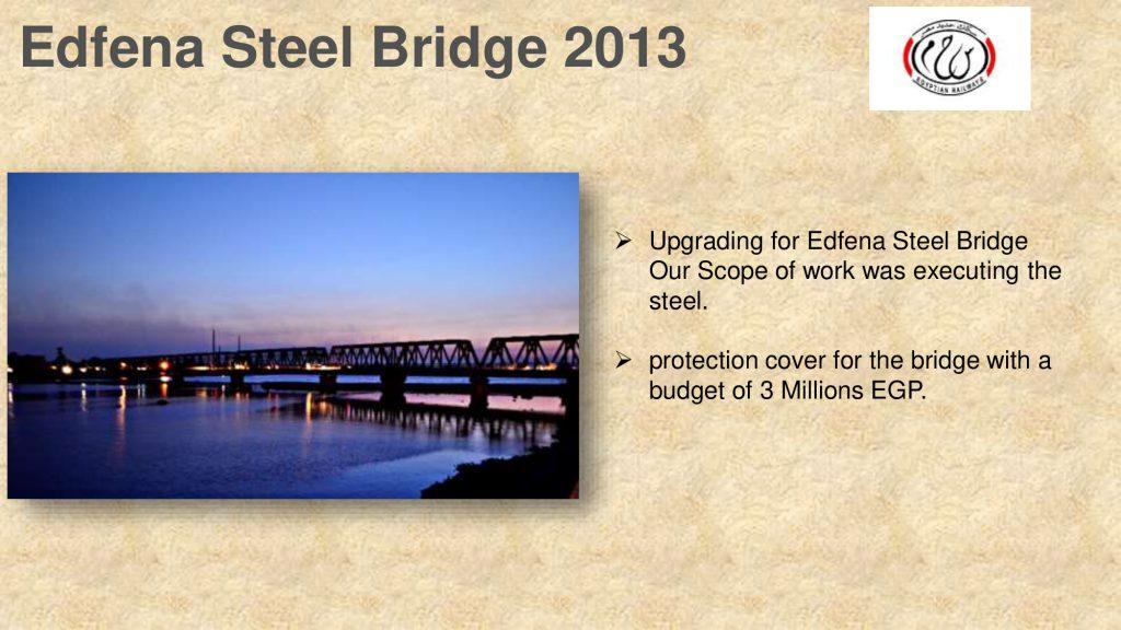 Edfena Steel Bridge 2013
