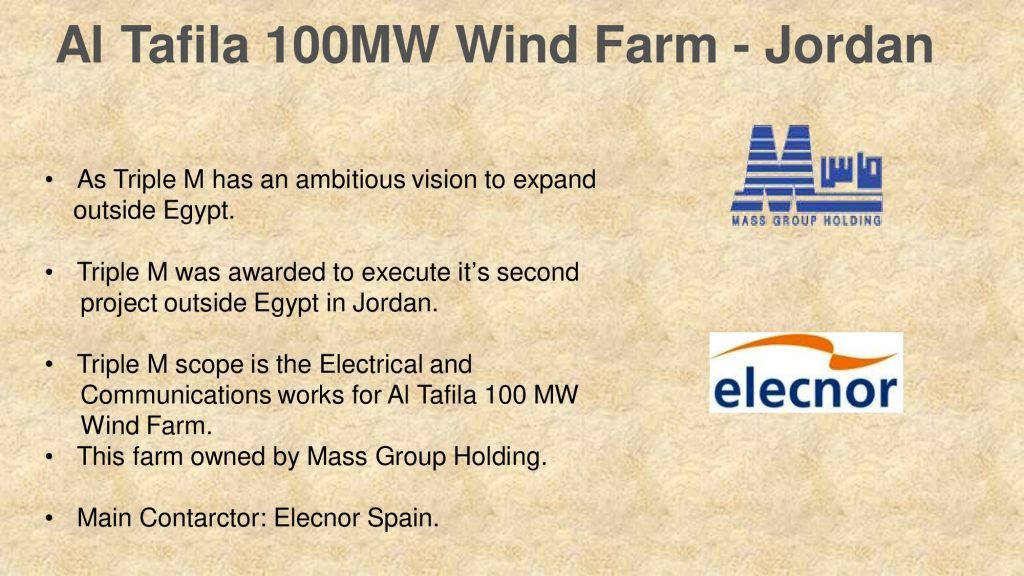 Al Tafila 100MW Wind Farm - Jordan