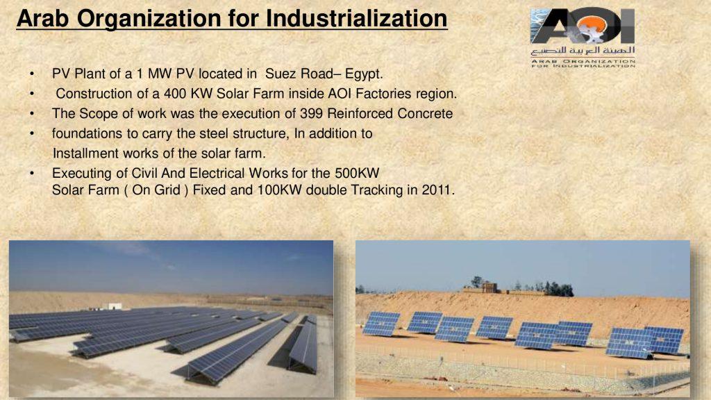 Arab Organization for Industrialization