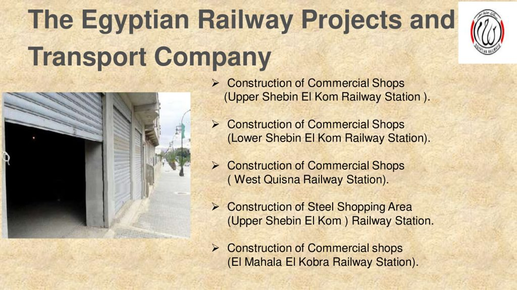 The Egyptian Railway Projects and Transport Company