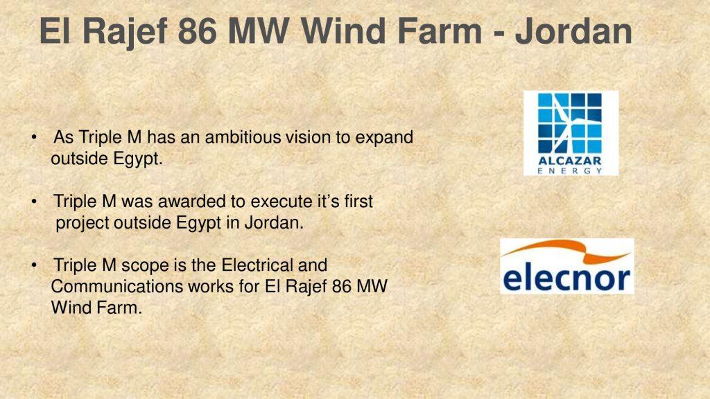 El Rajef 86 MW Wind Farm - Jordan