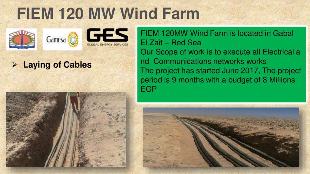 FIEM 120 MW Wind Farm