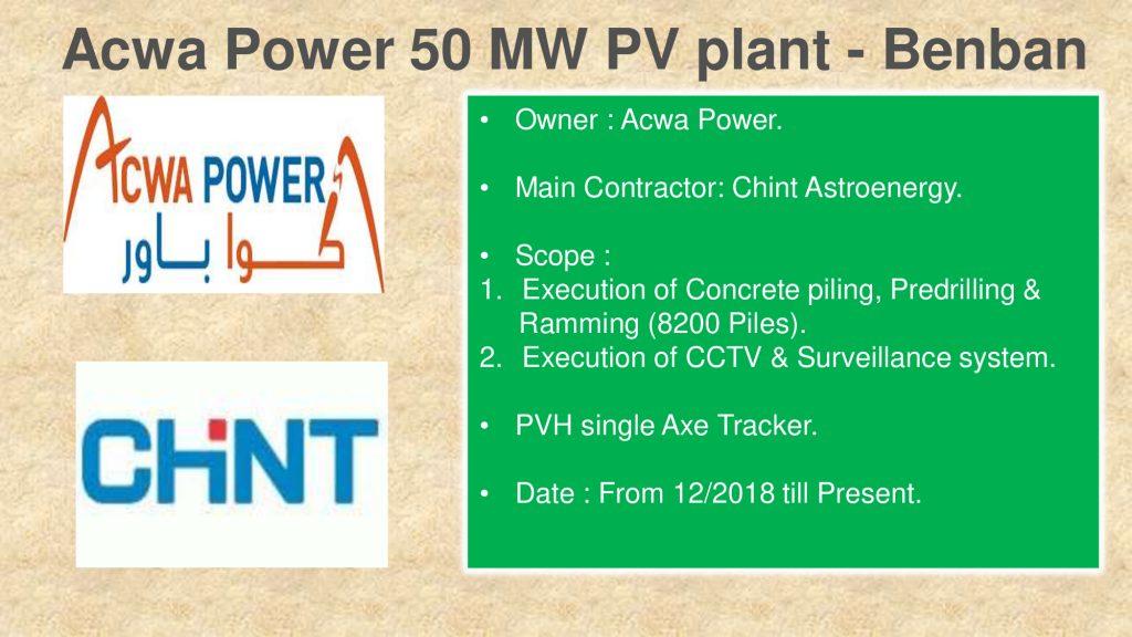Acwa Power 50 MW PV plant - Benban