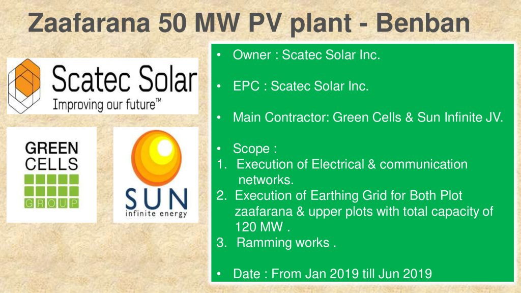 Zaafarana 50 MW PV plant - Benban