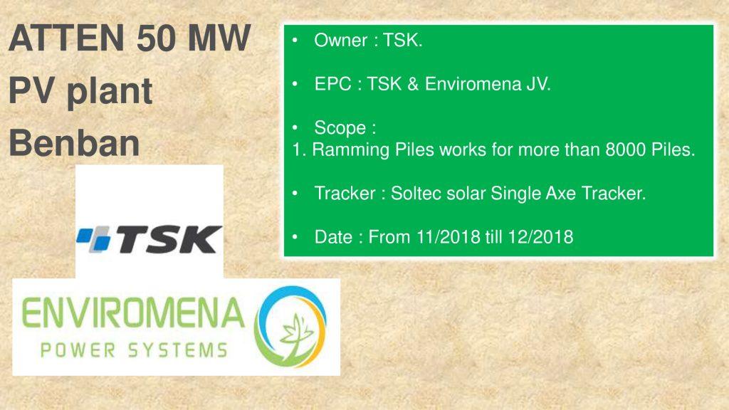 ATTEN 50 MW PV plant Benban